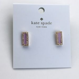 🗣SOLD: Authentic NWT Kate Spade bar earrings